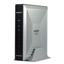 AddPac	ADD-AP-GS1002C - VoIP-GSM шлюз, 2 GSM канала, SIP & H.323, CallBack, SMS. Порты 2хFXO, Ethernet 2x10/100
